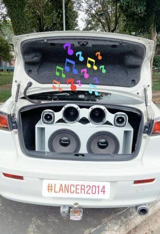 Lancer Mitsubishi 2014 + Difusor Esportivo - Foto 11