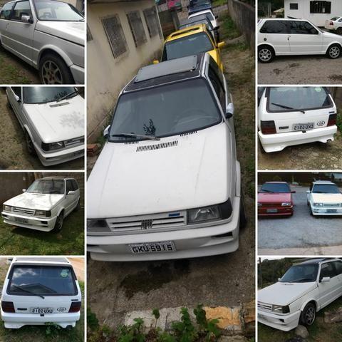 Uno Turbo 94 - Branco Real - Original de Fabrica - Foto 2