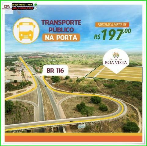 Loteamento Boa Vista, sua moradia, próximo a Fortaleza.R$ 197,00 - Foto 14