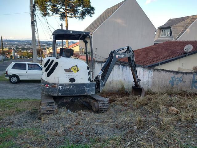 Bob Cat, Mini Escavadeira Limpeza de Terrenos - Foto 2