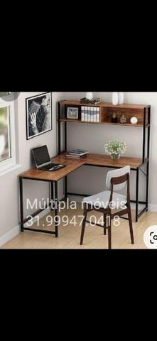 Móveis estantes mesas. estilizados ou sob medida - Foto 2