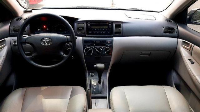 Toyota fielder XEI aut motor 1.8 16v flex vvt-i 4p ano 2008 raridade 86.000km ipva2020pg - Foto 8