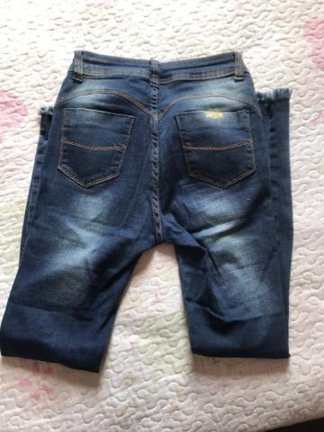 Calça Jeans despojada tamanho 36 - Foto 3