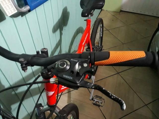 Bicicleta mormaii aro 26 bem nova(ler anuncio) - Foto 3