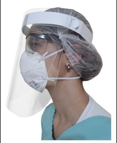 Máscara de proteção facial shield - Foto 3