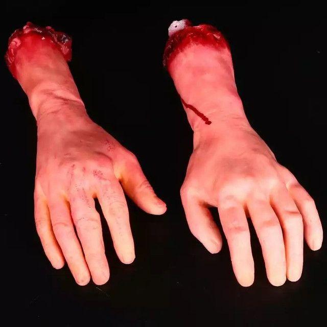 Braço de borracha látex direito - Foto 5