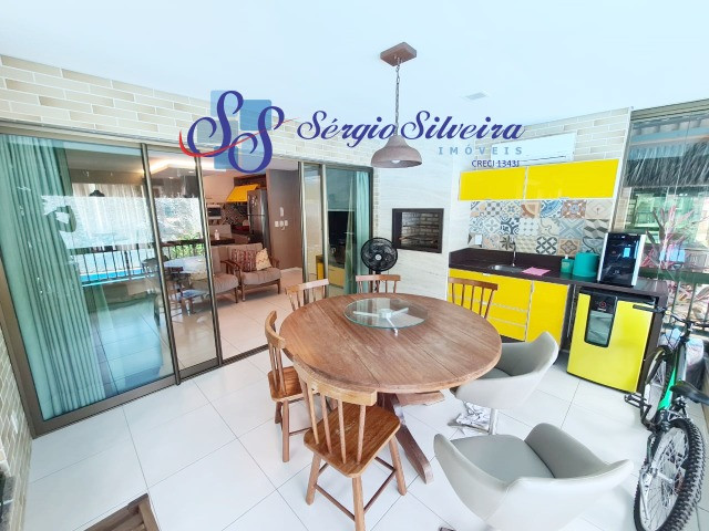 Mobiliado! Apartamento no Porto das Dunas com 3 quartos Parque das Ilhas - Foto 3