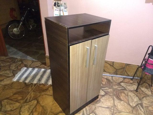 Guarda-roupa Casal 6 portas - 2,05m x 1,74m / 46cm de profundidade + Sapateira gratis - Foto 5