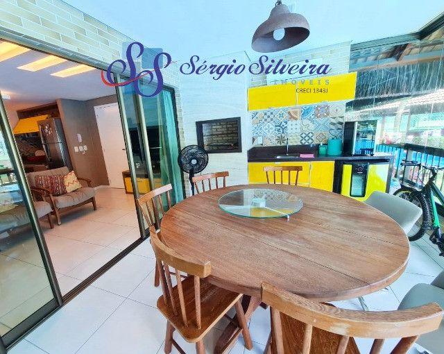 Mobiliado! Apartamento no Porto das Dunas com 3 quartos Parque das Ilhas - Foto 4