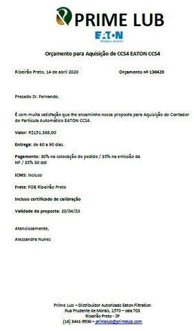 Contador De Partículas Ccs4 Marca Eaton - Analise De Óleo R$75,000.00 - Foto 6