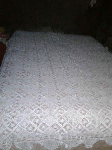 Vendo essa Cocha de cama de crochê  - Foto 3
