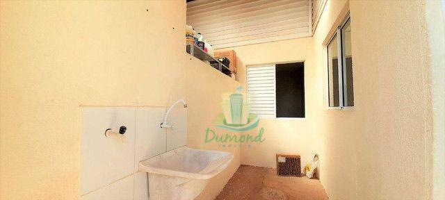 Casa com 3 dormitórios para alugar, 68 m² por R$ 1.800,00/mês - Condominio Residencial Ter - Foto 10