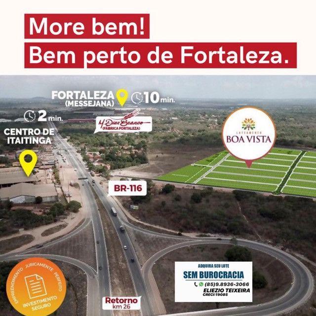 Loteamento às margens da BR-116, 10 min de Fortaleza! - Foto 10