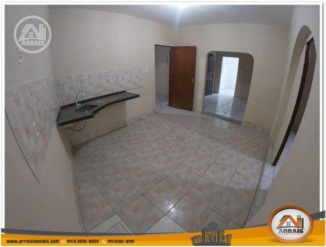 Casa com 3 dormitórios para alugar, 90 m² por R$ 900,00/mês - Vila União - Fortaleza/CE - Foto 12