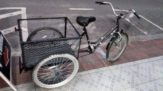 Vendo bicicleta triciclo cargueira