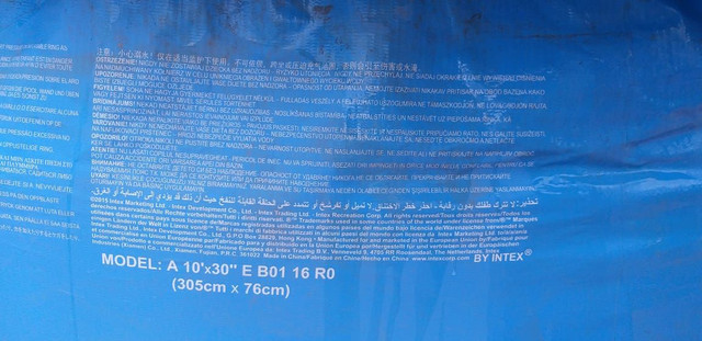 Piscina redonda vinil intex  - Foto 4