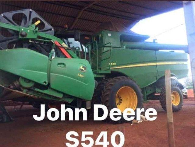 2016 John Deere s 540