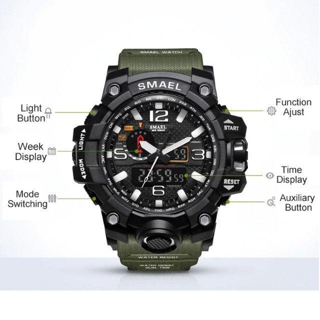 Relógio de Pulso Masculino à prova d'água - Foto 5