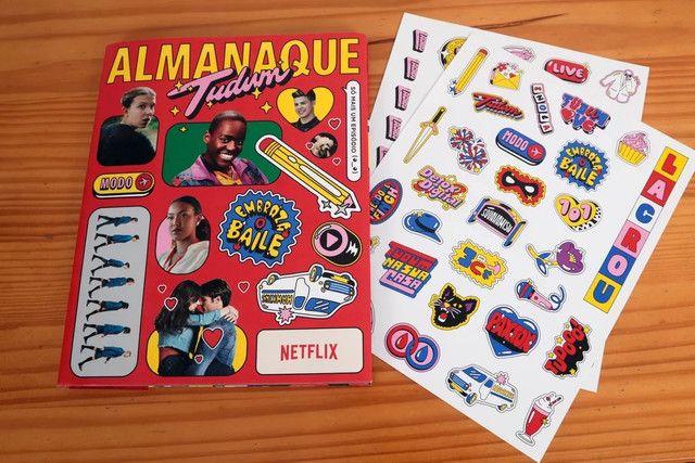 Almanaque Tudum Netflix  2020 edição especial de colecionador - Foto 2