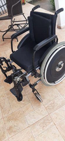 Cadeira de rodas novinha nunca usada, da ortobras - Foto 3