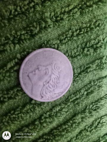 Moeda de 50 centavos 1970 - Foto 4