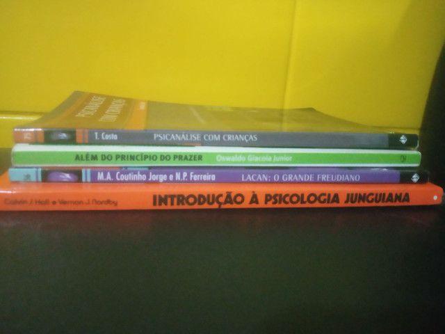 4 livros de Psicanálise