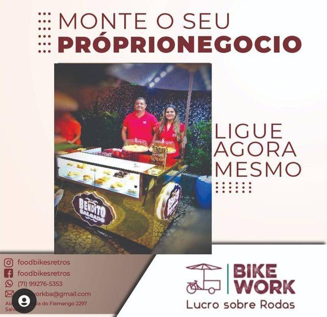 Fabricamos carrinhos gourmet food  bike projetos especiais - Foto 2