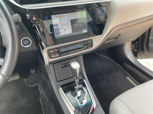 Toyota Corolla Xei 2018 Blindado Impecável - Foto 14