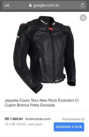 Jaqueta de couro Texx - Foto 4