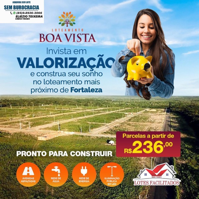 Loteamento às margens da BR-116, 10 min de Fortaleza! - Foto 11