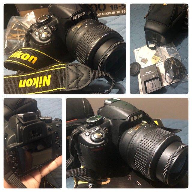 Câmera profissional Nikon D3100 - Foto 3