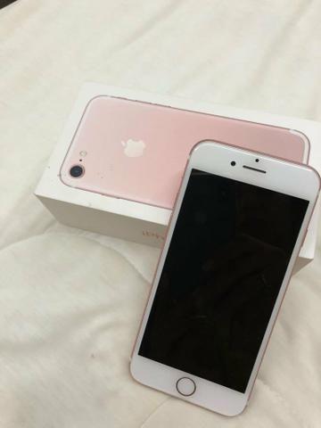 Iphone 7 rose / 256gb / r$ 2.700,00