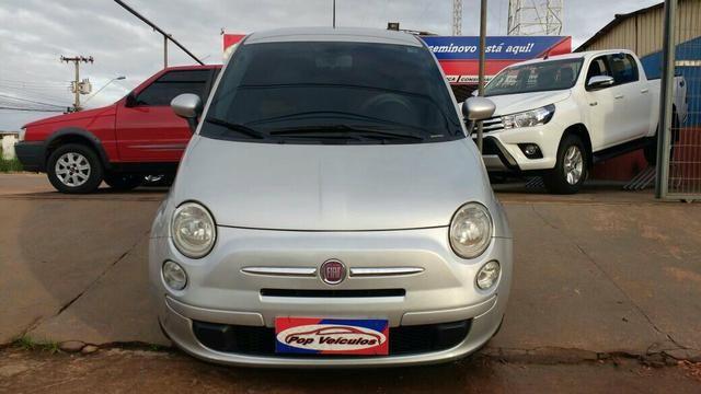 Fiat 500 Dual 1.4 8v 11/12 PROMOÇÄO da semana na Pop Veículos