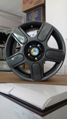 Jogo de Rodas Originais Volkswagen CrossFox R15 5X100