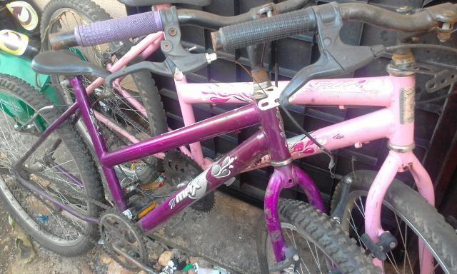 Vendo essa bicicleta rocha ou troca por um taplete