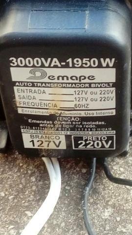 Vendo um transformador de energia
