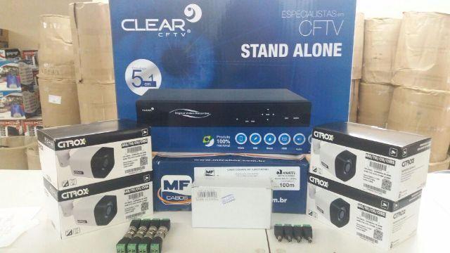 Sistema CFTV completo
