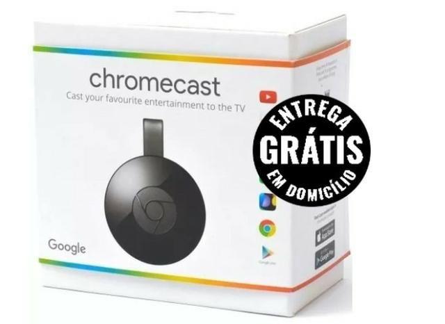 Chromecast Hdmi Multimídia Original - entrega grátis