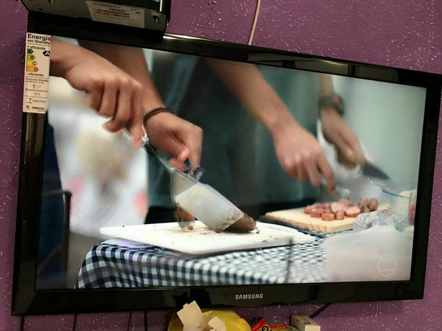 TV Samsung 40 LCD Full Hd C/ entrada HDMI