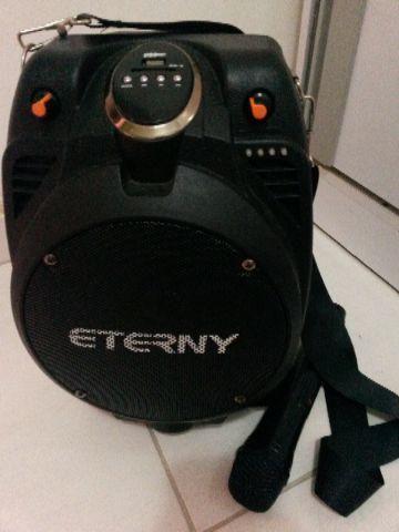 Caixa amplificada portatil Eterny