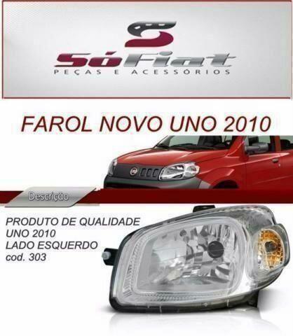 Farol2010 Novo Uno carro para Fiat original