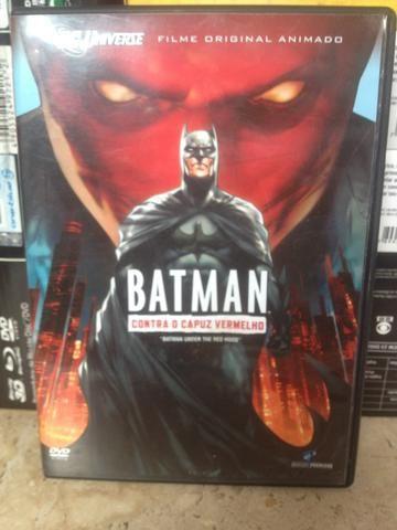 DVD Batman contra o capuz vermelho
