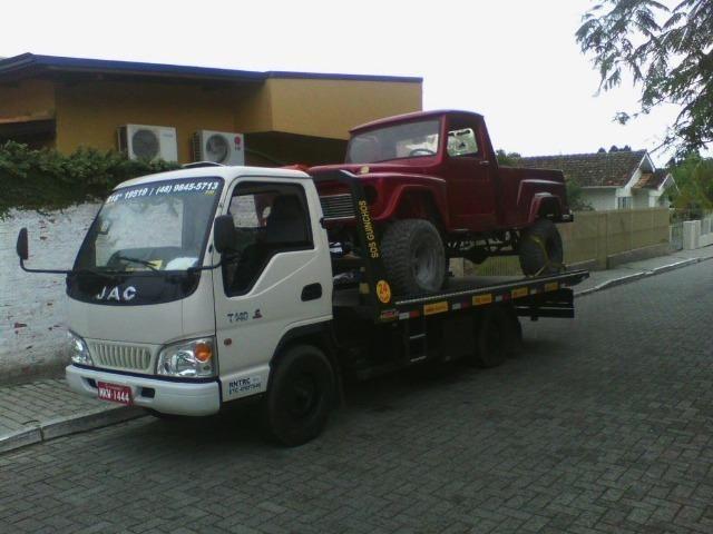 Transporte e guicho de carros e motos