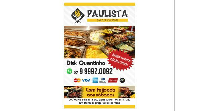 Restaurante Paulista Disk quentinha