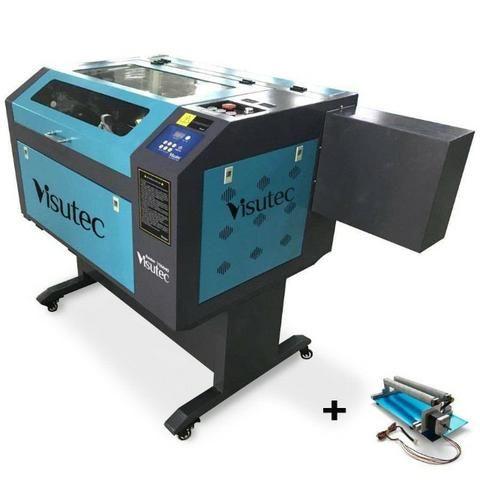Máquina Router Laser cnc VS6040 Corte e Gravação Completa 60x40cm 60W Com Eixo Rotativo - Foto 3