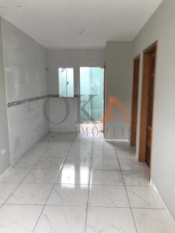 Casa de esquina 01 dormitório com preparação para ático em curitiba é na oka imóveis - Foto 7
