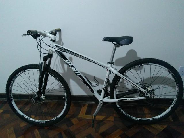 80602d693 Bicicleta semi nova Rush aro 29 Apenas venda - Ciclismo - Araraquara ...