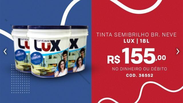 Tinta Semibrilho Branco Neve R$155,00