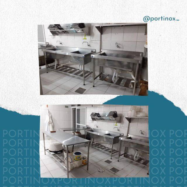 Moveis inox monte sua cozinha industrial - se prepare para temporada