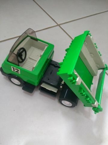 Bonecos e Carro Playmobil Antigo Policia - Foto 3